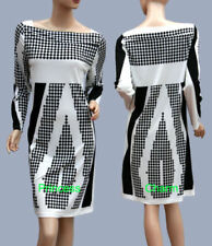 Unbranded Cotton/Polyester Geometric Dresses for Women