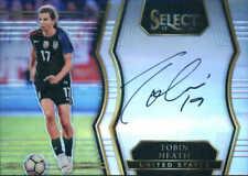 2017-18 Select Tobin Heath United States Signatures Autograph