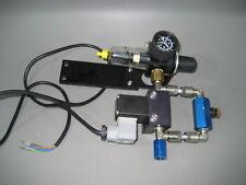 Burkert Druckluft Absperrung elektrisch mit Ölabscheider und Druckmanometer (12)