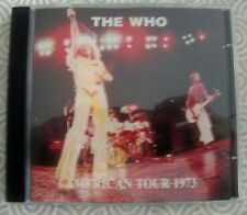 """THE WHO """"AMERICAN TOUR 1973"""" CD LIVE CAPITOL CENTER, LARGO, CA,USA SWINGING PIG"""