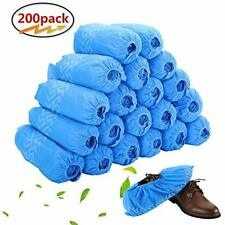 Disposable Boot Shoe Covers 200 Pack 100 Pairs Non-Slip Durable for Indoors New
