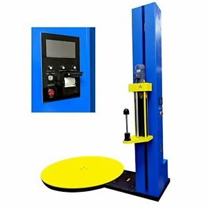 PEC Stretch Wrap Machine New version , Automatic Pallet Wrapping Machine for War