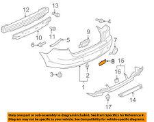 MITSUBISHI OEM 10-15 Lancer Rear Bumper-Trim Cover 6410B012XA