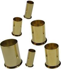 8 Stück Aderendhülsen Andernendhülsen vergoldet 20mm² - 25mm² 20 - 25 mm² qmm