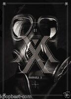MONSTA X - TRESPASS (1st Mini Album) CD+92p Booklet+photocard+ Poster K-pop