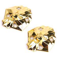 Pair Gold Line Head Shoe Laces Locks For LEBRON JORDAN AJ XI V AIR MAX ZERO