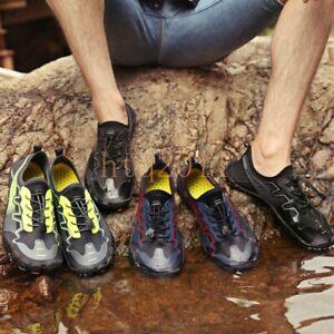 Mens Water Shoes Barefoot Skin Socks Quick-Dry Aqua Beach Swim Diving Pool Shoes