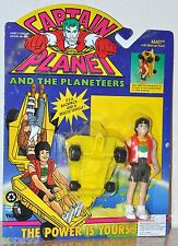 Captain Planet & The Planeteers Mati figure With Rescue Pack MOC VHTF 1992