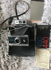 Vintage Polaroid 450 Land Camera, Great Condition, Includes Extras