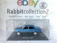 """DIE CAST """" FIAT ARGENTA - 1981 """" + TECA RIGIDA BOX 2 SCALA 1/43"""