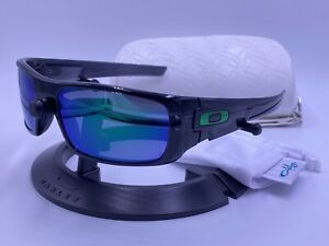 OAKLEY Sunglasses CRANKSHAFT OO9239-02 Black Ink frame; Jade Iridium AUTHENTIC