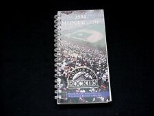 1994 Colorado Rockies Baseball Media Guide
