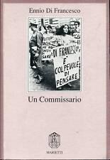 Ennio Di Francesco = UN COMMISSARIO = AUTOGRAFATO