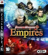 Dynasty Warriors 6 Empires PS3 * Neu Versiegelt PAL *