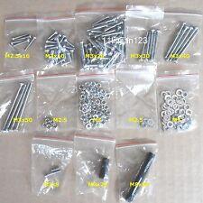 Prusa Mendel Hardware Kit fastener Set Nut Washer Bolt Grub Screw for 3D Printer
