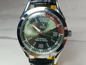 Vintage Camy Analog  Dial Mechanical Handwinding Mens Wrist Watch WU16 A