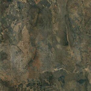 """Vinyl Floor Tiles 12"""" x 12"""" Dark Slate Marble Self Adhesive Peel & Stick 20 Pack"""