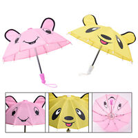 Lovely Small Printed Umbrella For 18inch Doll Party Children Gifts