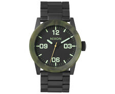 Nixon Men's 42mm Private SS Watch - Matte Black/Camo