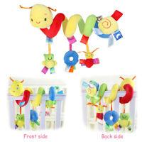 Baby Crib Stroller Cot Buggy Pram Car Seat Animal Hanging Rattles Kid Toy Gift