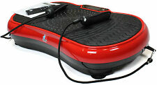REBOXED Gym Master Slim Crazy Fit Vibration Power Plate Machine No Remote Red