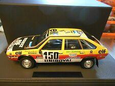 RENAULT 20 Turbo 4x4 Proto Raid Rallye Paris Dakar 1982 Marreau Top Marques 1:18