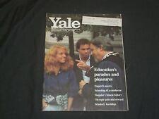 1984 OCTOBER YALE ALUMNI MAGAZINE - BART GIAMATTI COVER - B 902