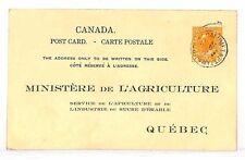 UU531 1929 Canada OFFICIAL STATIONERY Card RAILWAY *RPO CDS* {samwells-covers}