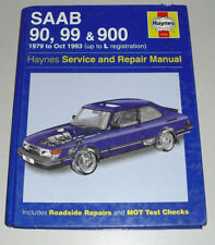 Reparaturanleitung Saab 90 / 99 / 900, Baujahre 1979 - 1993 incl. Turbo