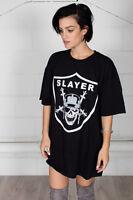 Official Slayer Slayders Unisex T-shirt Dress Merch Nation Reign In Blood