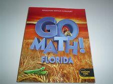 Harcourt Go Math!  Florida Common Core Edition Grade 2 Paperback New 2013
