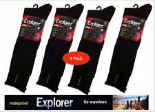4 PAIR PACK  GENUINE HOLEPROOF LONG LEG  EXPLORER MENS WORK SOCKS SZ 6-10 &11-14