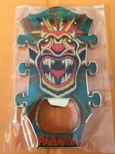 Hard Rock Cafe Panama Dragon Guitar Head Bottle Opener Magnet (Not Pin)
