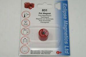 1 pcs ECLIPSE Magnets # 831 Deep Pot Magnet Metric M6 Thread