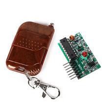 4 Channel 433MHZ Radio RF Wireless Controller Remote Control Module Kit