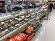 Hill Phoenix Curved Glass Service Deli Meat Cheese or Fish Display Cases