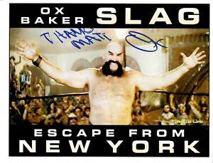 Ox Baker Signed NWA 8.5x11 Photo Personalized To Matt WWE