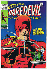 DAREDEVIL #53 1969 ORIGIN RETOLD Silver Age GENE COLAN  Key Issue YELLOW COSTUME