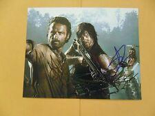 Andrew Lincoln, Danai Gurira 8x10 Autographed 'WalkingDead' Photo