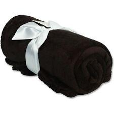 """Personalized Fleece Blanket Embroidered Monogram Girl Boy Gift 50""""x60"""""""