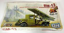 AER 1/72 Scale 7211 BM-13 Katiusza Soviet Rocket Launcher Plastic Military Kit