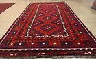 Afghan Hand Knotted Woven Maimana Ghulmori Wool Kilim Kilm Area Rug 10 x 5 Ft