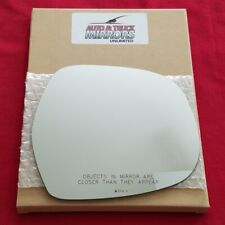 Mirror Glass + Adhesive For 03-09 4Runner, Gx470 Passenger Side Replacement-Heat