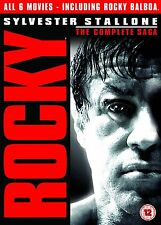 Rocky: The Complete Collection 1 2 3 4 5 & 6 Saga Box Set | New | Sealed | DVD