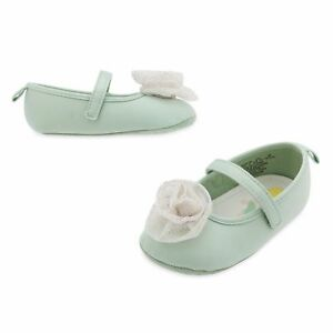 NWT Disney Store Tinker Bell Baby Costume Shoes 6 12 18 24 M