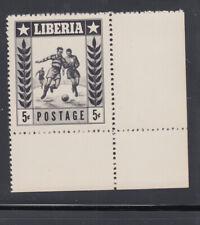 Liberia # 348 BLACK PROOF MNH Sports Football Soccer