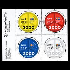 """Aland 2000 - Millennium """"Peace Symbol"""" - Sc 161 MNH"""