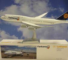 limox Wings 1:200 Boeing 747-8 fanhansa SAARLAND LH30 + Herpa Ala catálogo