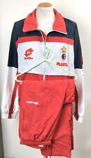 VINTAGE AC MILAN 1993 LOTTO FULL TRACKSUIT JACKET ITALY MAGLIA SHIRT L MOTTA
