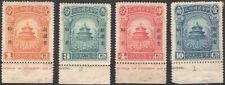 Sinkiang, 1923. Temple of Heaven 43-46, Mint